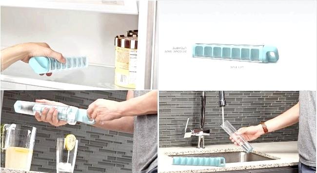 10 шалено зручних кухонних пристосувань: Форма для льоду у вигляді трубиІз такої форми не потрібно буде довго виколупувати лід, він сам