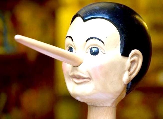 10 Ознак того, що ваш співрозмовник бреше