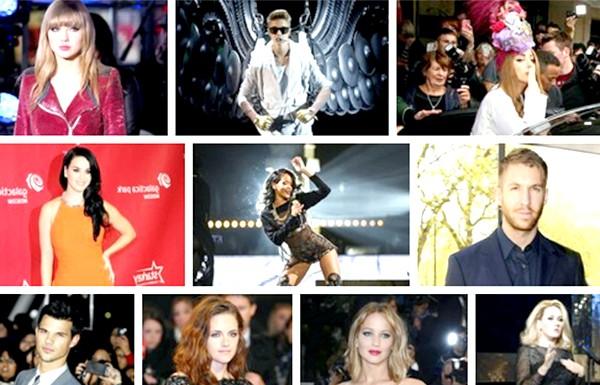 10 найбільш високооплачуваних молодих зірок: Список очолила поп-співачка Леді Гага, прославилася не тільки своїми хітами, але і епатажними нарядами. Незважаючи на дострокове припинення туру Born
