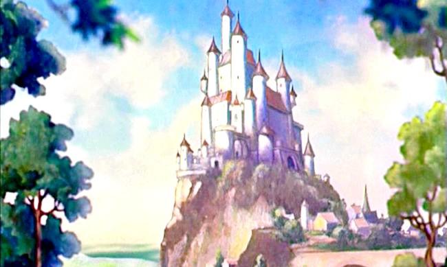 15 місць, що надихнули Діснея на створення їх копій: Замок королеви з мультфільму «Білосніжка і сім гномів» і замок Попелюшки. Прототип - замок Сеговії, Іспанія