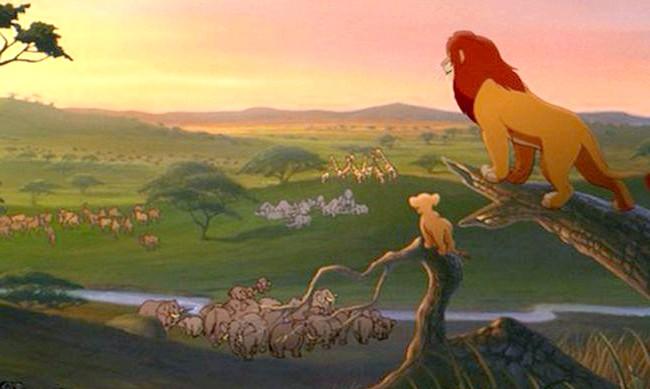 15 місць, що надихнули Діснея на створення їх копій: Країна Сімби в мультфільмі «Король Лев». Прототип - Національний парк Серенгеті, Танзанія і Кенія