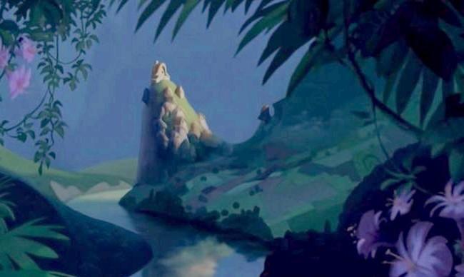 15 місць, що надихнули Діснея на створення їх копій: Село Пача з мультфільму «Пригоди імператора». Прототип - стародавнє місто Мачу-Пікчу в Перу