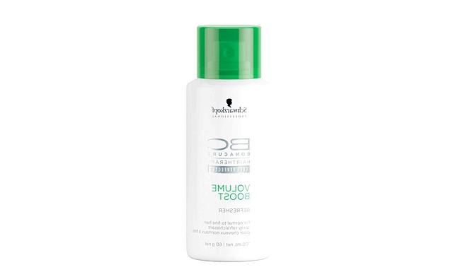 19 засобів для підготовки до випускного балу: Спрей BC Volume Boost RefresherСпрей для поновлення укладання, допомагає зберегти обсяг і свіжість зачіски.