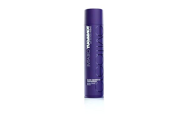 19 засобів для підготовки до випускного балу: Спрей для волосся надсильної фіксації для найсміливіших укладок від TONI & GUY Hair Meet WardrobeЕкстремальная фіксація для