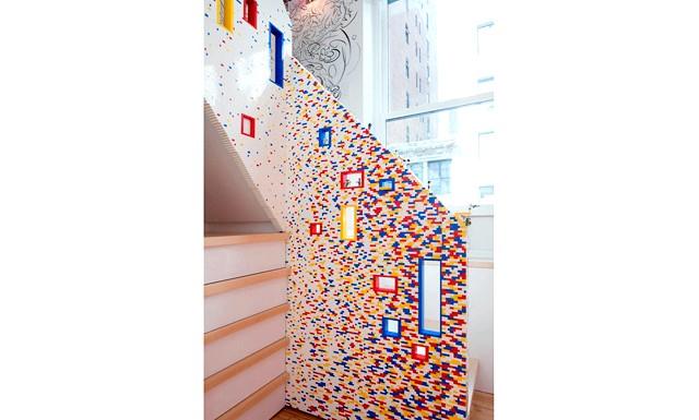 20000 кубиків конструктора в інтер'єрі лофт: