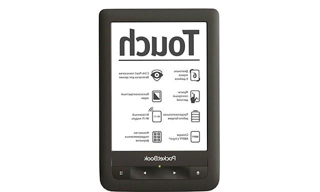 5 революційних пристроїв з сенсорним управлінням: [center] Рис. 3. PocketBook Touch [/ center] Перший рідер був розроблений компанією DEC в 1996 році і представляв собою