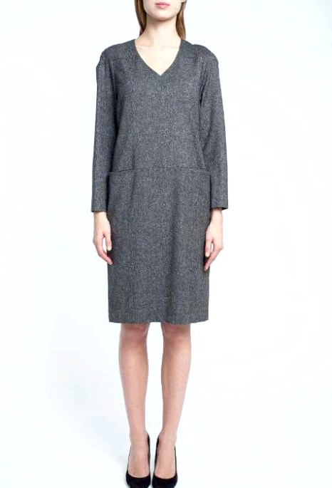 7 вовняних суконь для будь-якої погоди: [center] [i] Сукня Elena Shipilova, 11 250 руб. [/ I] [/ center]