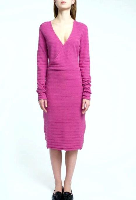7 вовняних суконь для будь-якої погоди: [center] [i] Сукня JULUA SEREGINA smart knits, 4425 руб. [/ I] [/ center]