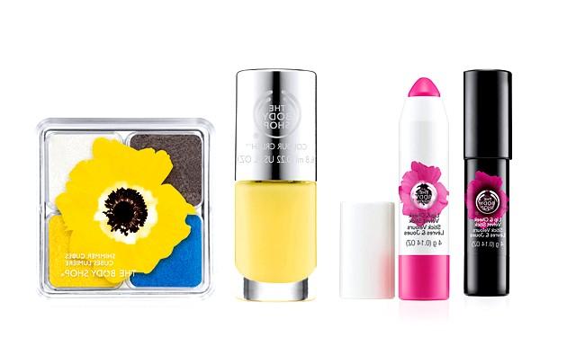 7 весняних колекцій макіяжу - 2015: Колекція макіяжу «Smoky Poppy» від The   Body ShopКлючевой продукт колекції - Стік для губ і скул