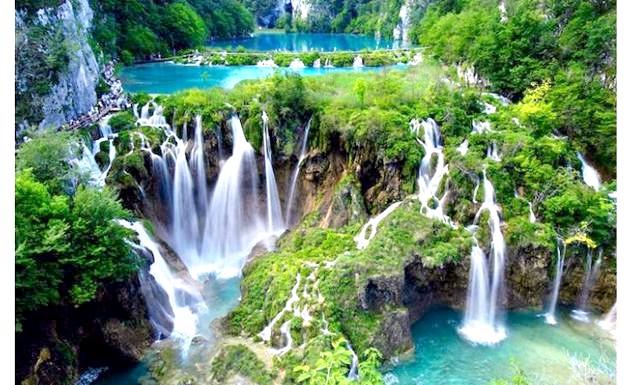8 найкрасивіших водних пейзажів світу: Плитвицкие озера, Хорватія.
