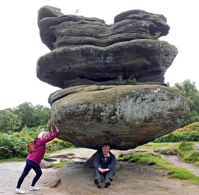 Балансуючий камінь у Брімхем Рокс: Брімхем Рокс