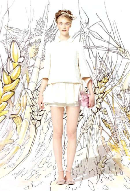 Балерини і квіти в колекції весна-літо 2014 від Valentino: