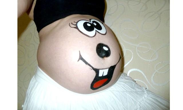 Боді-арт під час вагітності на Еве.Ру: Автор: Nakhla