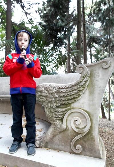 Ботанічний сад Малаги: На пленері приходить натхнення.