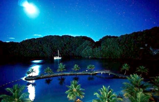 Десять найменш відвідуваних країн світу: 10. Палау Республіка Палау складається з 328 островів - це найзахідніша група островів Каролінського архіпелагу в Тихому океані.