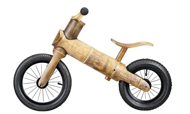 Дитячий ековелосіпед з бамбука: Одним з найяскравіших прикладів турботи про дітей може вважатися велосипед з бамбука.