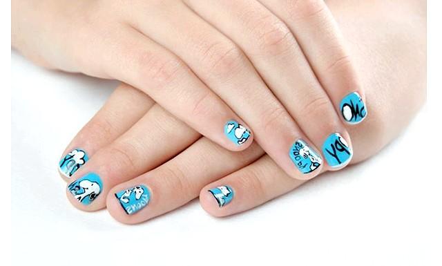 Дитячий манікюр в домашніх умовах: А ось декілька варіацій як можна прикрасити дитячі нігтики.