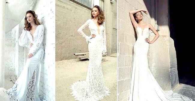 Дизайнери представили весільні сукні 2014-2015: [i] Весільна колекція Ada Hefetz 2014 [/ i] Красиві тканини ручної роботи, драпірування і вибитий орнамент на сукнях приковують погляд.