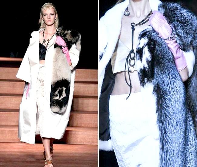 Довгі рукавички - тренд сезону весна / літо 2013: Рукавички Miu Miu весна-літо 2013В минулому жовтні, на тижні моди в Парижі, світ побачила колекція Miu