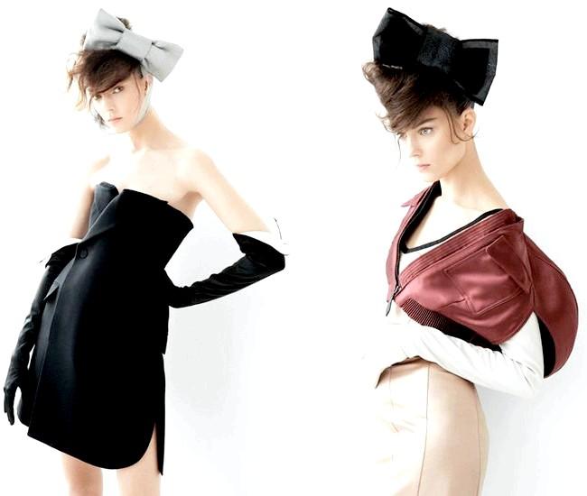 Довгі рукавички - тренд сезону весна / літо 2013: Vogue Paris, лютий 2013, і L'Officiel Brasil, февраль 2013
