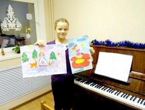 заняття з фортепіано з дітьми