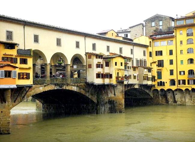 Дощова Флоренція: Ponte Vecchio