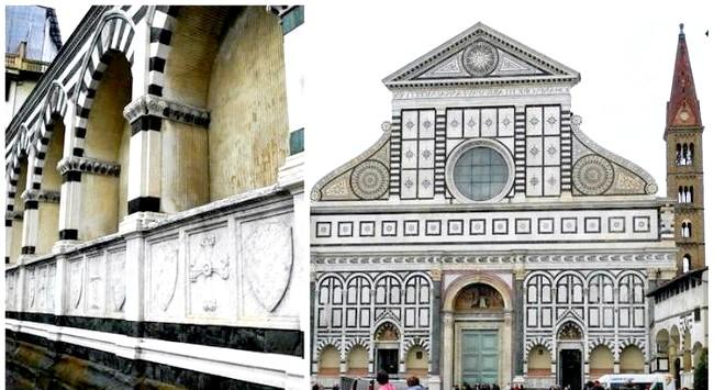 Дощова Флоренція: Церква Санта-Марія-Новела