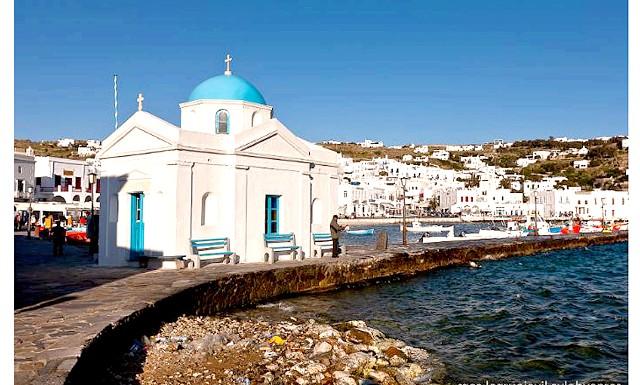 Європейські Багами: грецький острів Міконос: