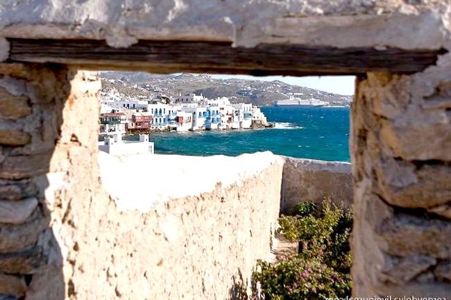 Європейські Багами: грецький острів Міконос: В Міконосе є район, який називають Венецією