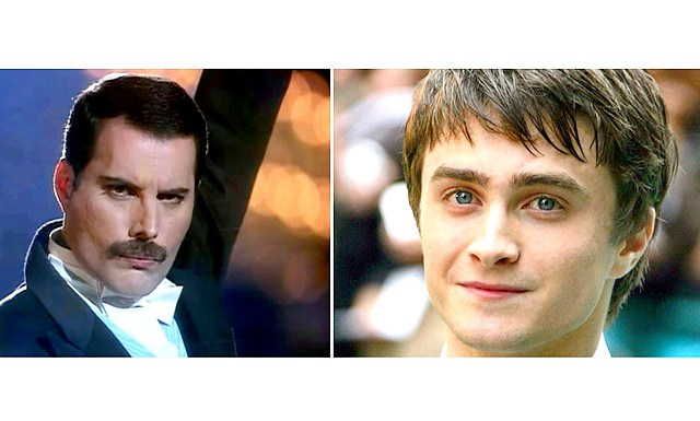 Гаррі Поттер в ролі Фредді Меркьюрі: Гаррі Поттер стане рок-зіркою! Британський актор Деніел Редкліфф може виконати роль фронтмена групи Queen Фредді Меркьюрі.24-річному