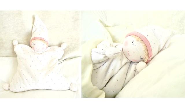 Грілка-лялечка з вишневими кісточками