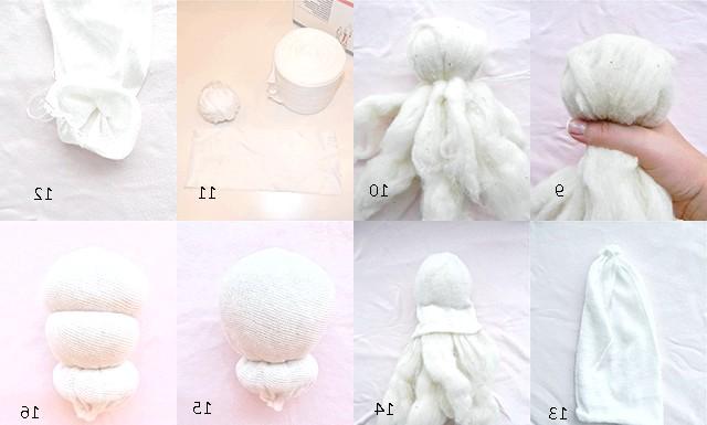 Грілка-лялечка з вишневими кісточками: 17.Далее беремо