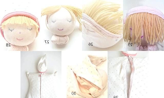 Грілка-лялечка з вишневими кісточками: