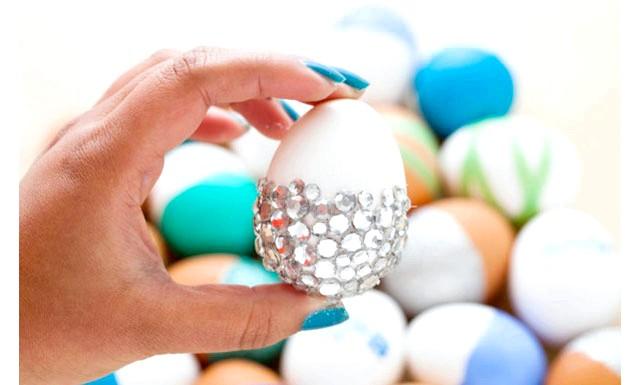 Ідеї   для прикраси яєць до Великодня: