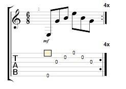 упражененія на гітарі