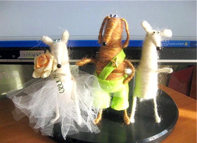 Іграшки з пробок: Вдалого вам творчості!