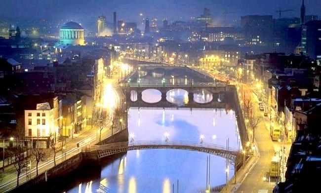 Ірландія - рай для мандрівників: [i] Нічний Дублін [/ i]