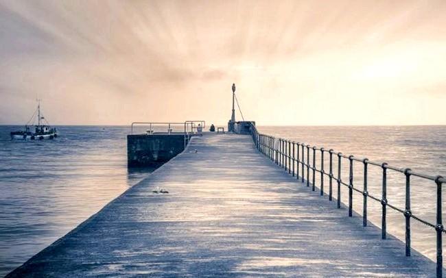 Ірландія - рай для мандрівників: [i] Пристань міста Уіклоу [/ i]