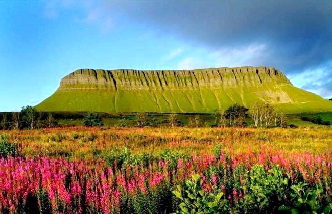 Ірландія - рай для мандрівників: [i] Гора Бен Балбей, графство Слайго [/ i]
