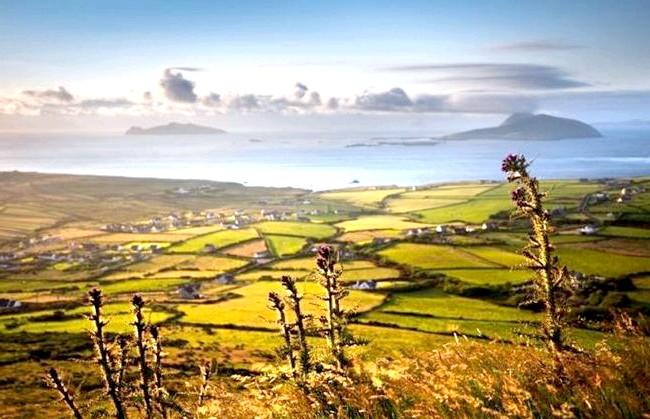 Ірландія - рай для мандрівників: [i] Вид на узбережжі [/ i]