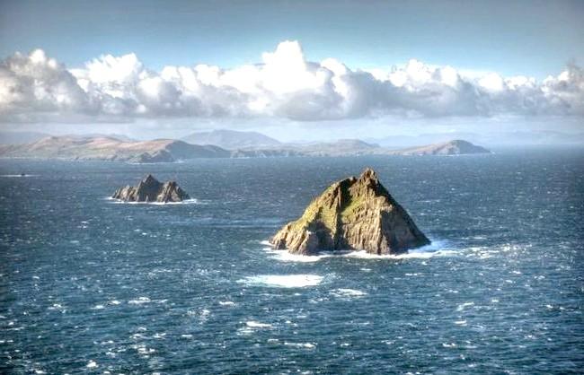 Ірландія - рай для мандрівників: [i] Острови Скелліг [/ i]