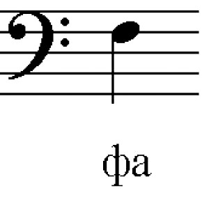 Вивчаємо ноти басового ключа