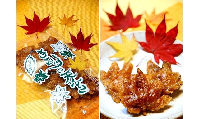 Вишукані смажені кленове листя з Японії: Як відомо Японія завжди дивувала світ своїми технічними новинками в галузі автомобілебудування та електроніки, не встала в сторонці вона і