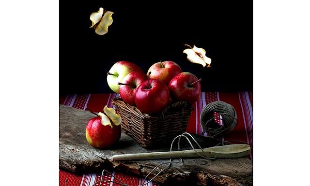 Яблука у фотографіях: