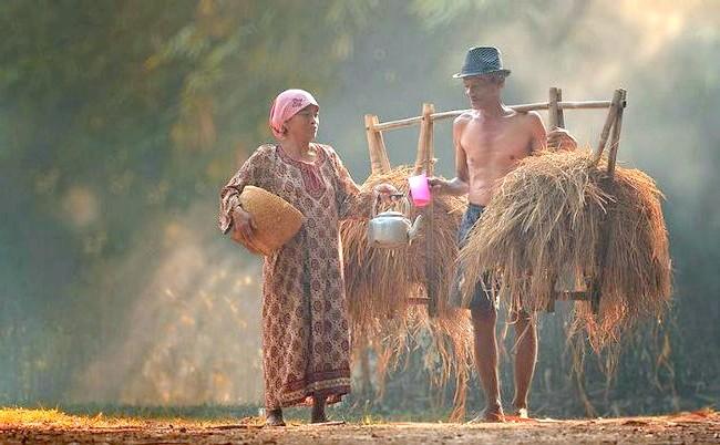 Яскраві будні індонезійського села: