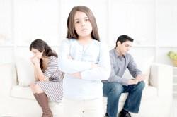Наявність у розлучається подружжя дітей
