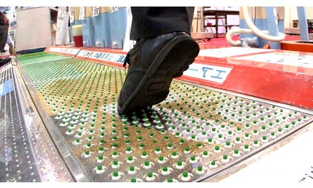 Як очистити килим в домашніх умовах: А ось японська компанія створила килимок-пилосос, який сам себе почистить, Якщо раніше людині потрібно було витирати ноги об лежить біля