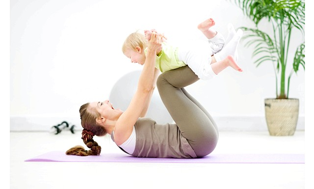 Як схуднути після народження дитини ?: