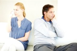 Смуток при розлученні