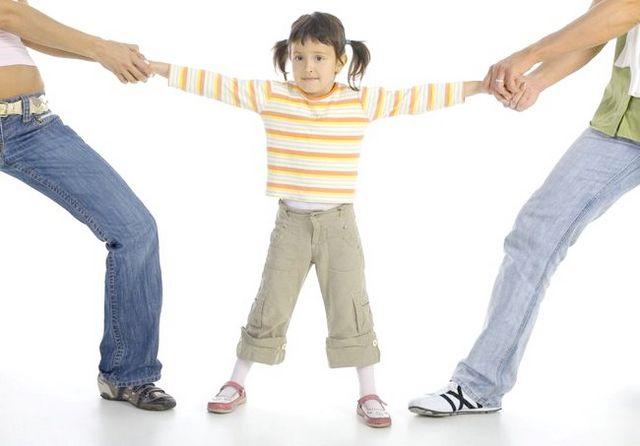 Неповнолітні діти при розлученні